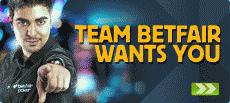 Team Betfair Sponsorship Promotion