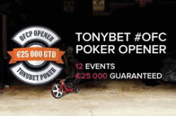 TonyBet Poker OFC Tournament Series