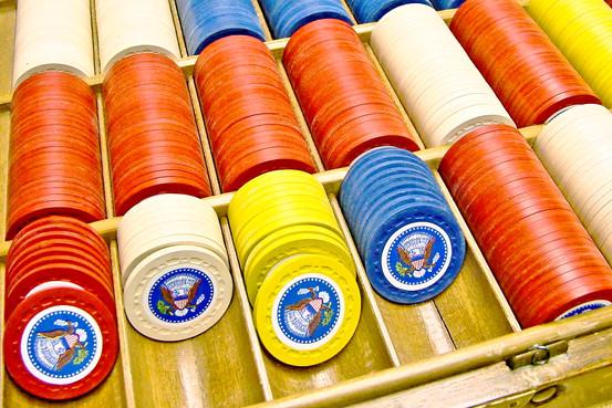 Truman's Poker Chip Set