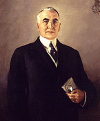 Warren G Harding Poker