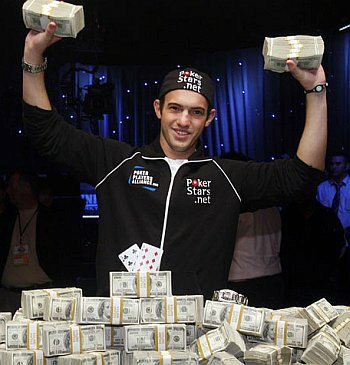 WSOP 2009 Champion Joseph Cada, Poker Player.