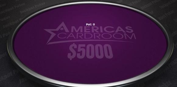 Americas Cardroom Jackpot Poker