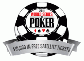 Betsafe WSOP Satellite Ticket Giveaway