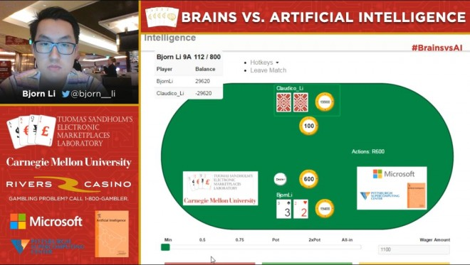 Bjorn Li Interview - Brains vs AI Poker Challenge