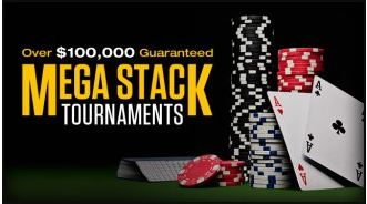 Carbon Poker Mega Stack Tournaments