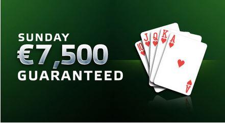 Party Poker Sunday guaranteed