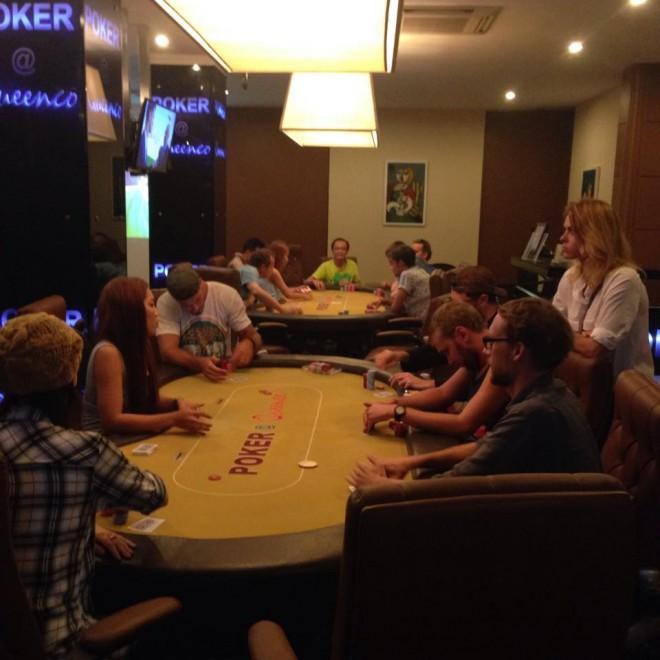 Queenco Cambodia Casino Poker Cash Game