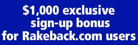 Eurobet Rakeback.com Exclusive $1,000 Bonus