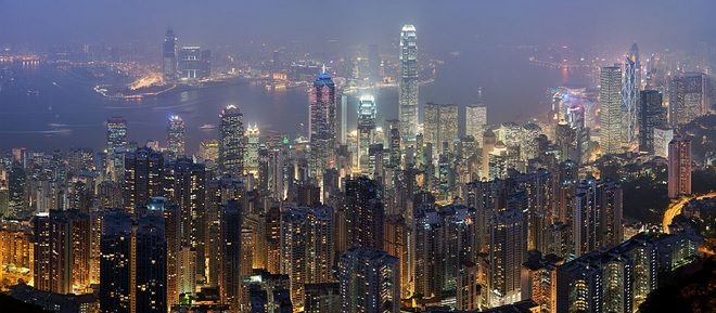 Skyline View Hong Kong