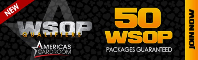 Qualify for the WSOP Main Event – 50 Seats GTD