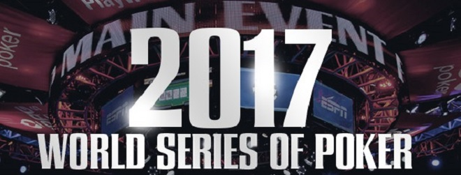 The 2017 World Series of Poker Main Event Final Table Set