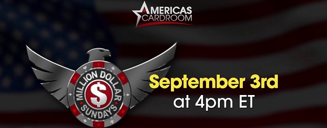 Million Dollar Sunday at Americas Cardroom