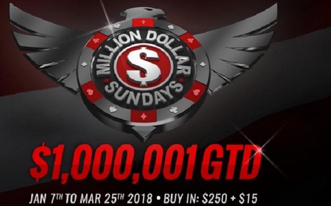 Americas Cardroom Million Dollar Sundays – Overlay Alert