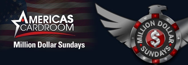 Another Million Dollar Sunday at Americas Cardroom