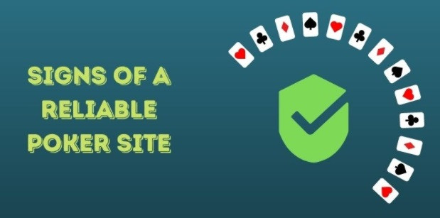 signs reliable poker site
