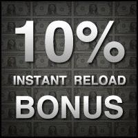 Carbon Poker 10% Instant Reload Bonus