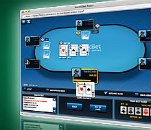 NordicBet Poker Table