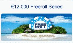 Paradise Poker 12K Freeroll Series