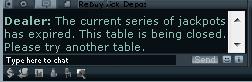 Party Jackpot Tables Expire