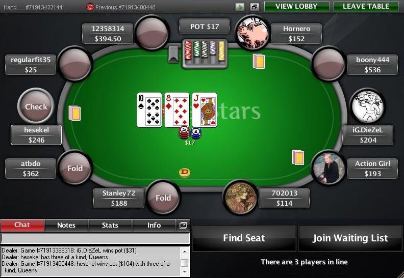 Покер старс онлайн консультант джекпот казино