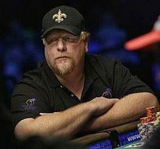 Poker player Darwin Moon at 2009 WSOP